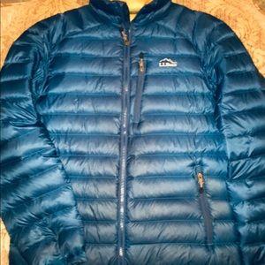 Like New Blue LL Bean 850 Puffer Jacket Sz.Med